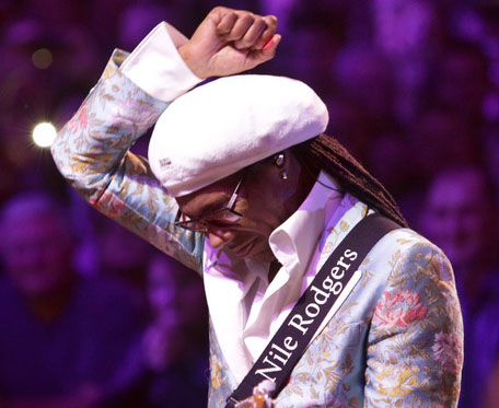 CHIC - Nile Rogers New Years Eve 2017-18 by Jill Furmanovsky