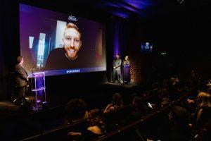 Award 04a - Steve Parkinson Ben Mundy stage