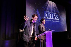 Award 11 - Elis & John on stage