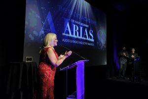 Award 14 - Vanessa Feltz on stage