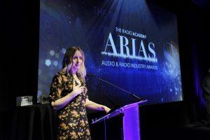 Award 16 - Lauren Laverne on stage