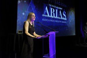 Award 18 - Stephanie Hirst on stage
