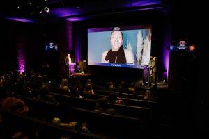 Award 20a - Scott Taunton stage Yasmin Evans on screen