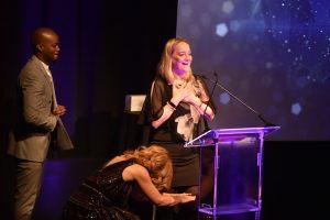 Award 24 - Sheena Mason Harriet Scott on stage
